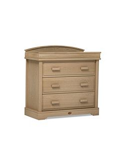 3 Drawer Dresser Almond