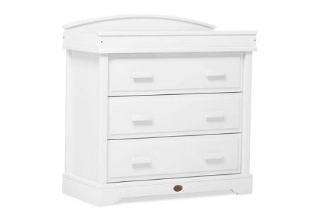 Boori 3 Drawer Dresser White