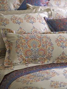 Axelson multi cushion, stylised motifs in multi-c