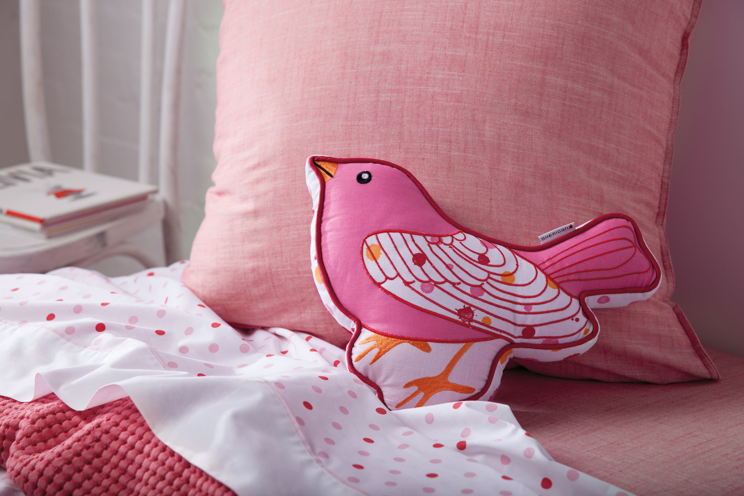Delilah sorbet cushion song bird