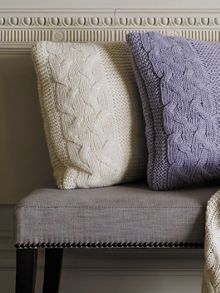 Roslyn skylight cushion chunky knit