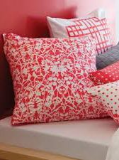 Savanna melon cushion