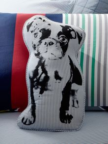 Randall chambray cushion dog