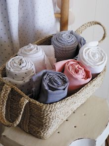 Skye chambray baby wrap double pack