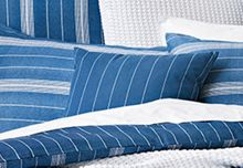 Bramwell indigo cushion