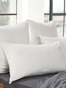 Sewell white housewife pillowcase pair
