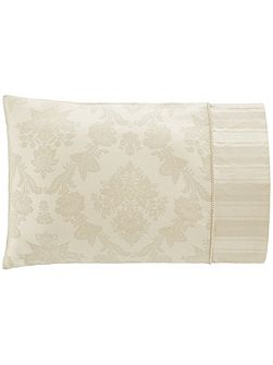 Cleary birch housewife pillowcase pair jacquard w