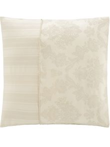 Sheridan Cleary birch square pillowcase jacquard weave