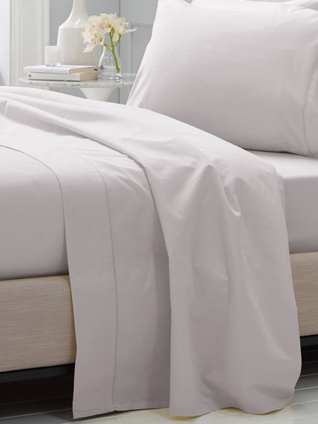 Sheridan Hotel-Weight Luxury Dove king flat sheet