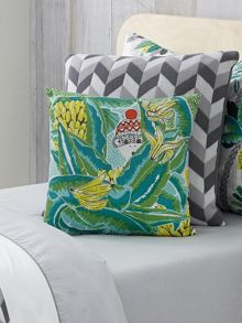 Holidaze forest square cushion