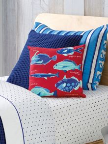 Queenscliff ocean square cushion