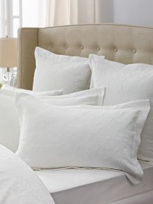 Sabatini Snow oxford pillowcase pair