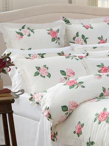 Kelsey Ivory oxford pillowcase pair