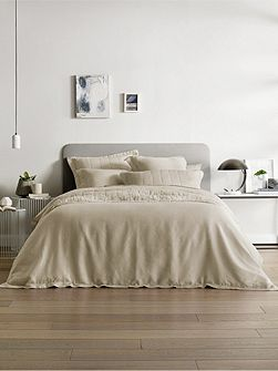 Abbotson linen oxford pillowcase