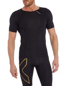 2XU Mens S/S Compression Top