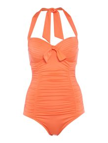 Seafolly Goddess Soft Cup Halter Maillot