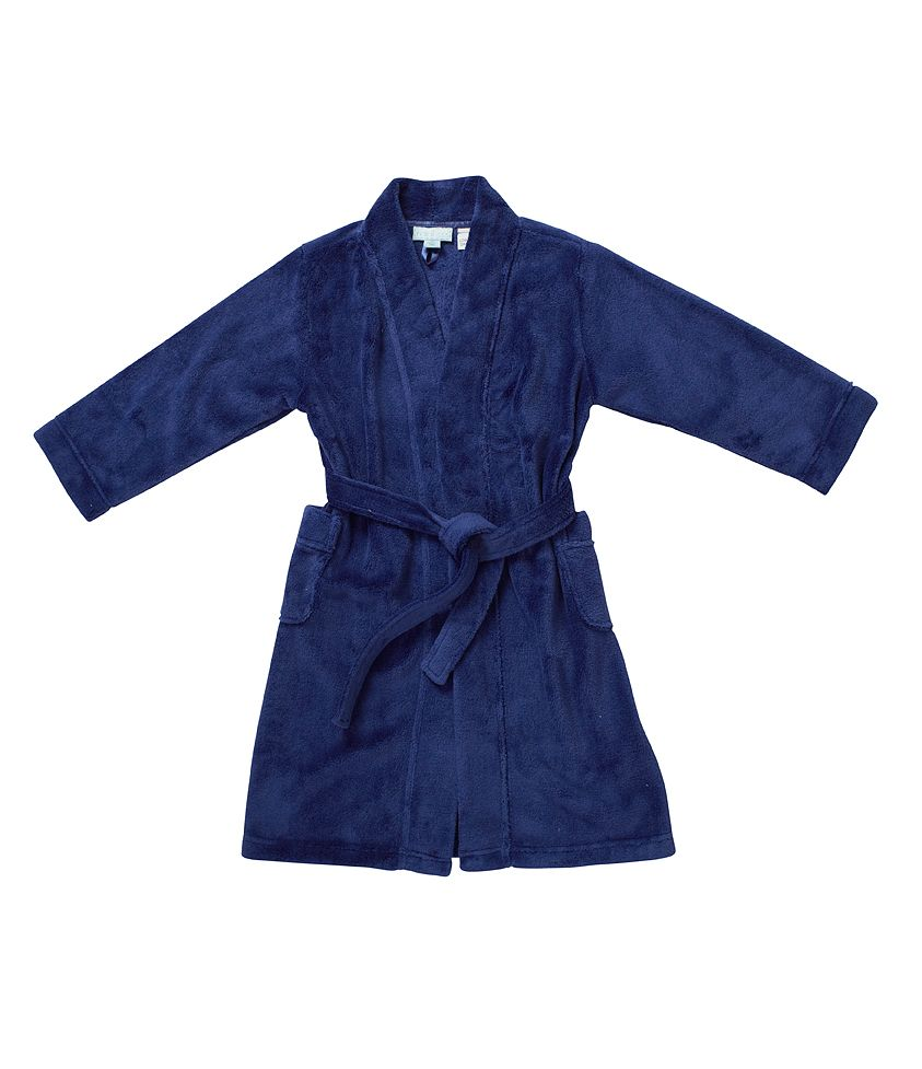 Boy`s plain dressing gown