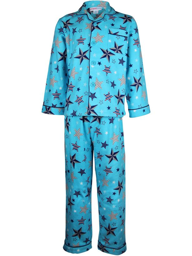 Girl`s counting stars flannel pyjama