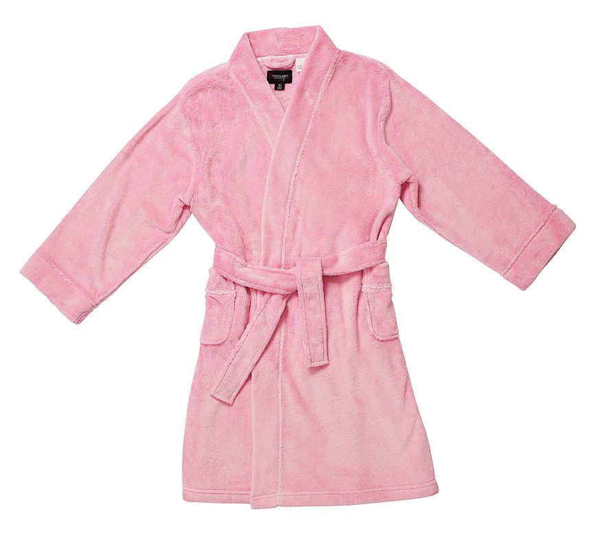 Girl`s plain dyed robe