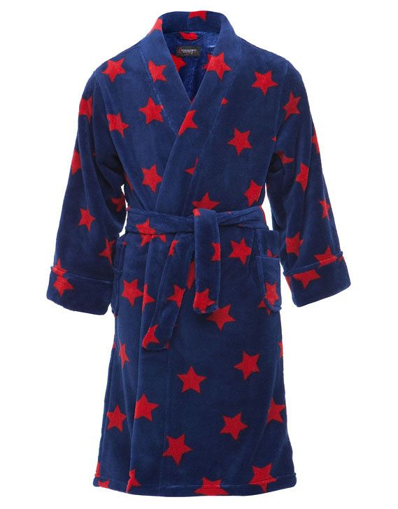 Boy`s plain dyed robe