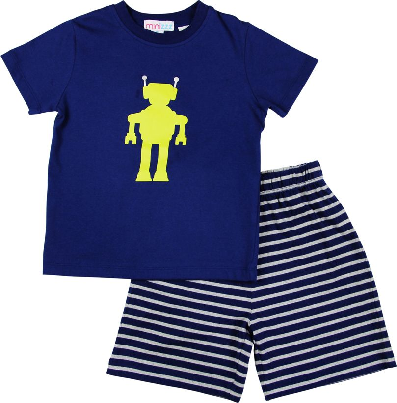 Boys robot pyjamas