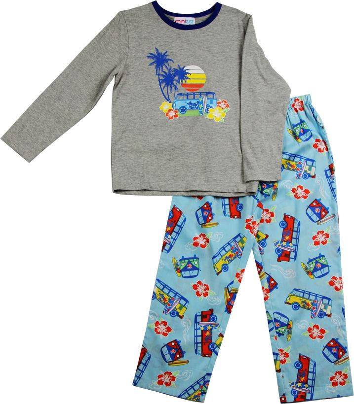 Boys beach combi pyjamas