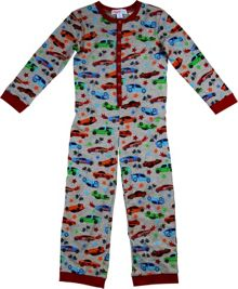 Boys racing car onesie