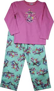 Girls Carousel Long T-Shirt/ Long Pant