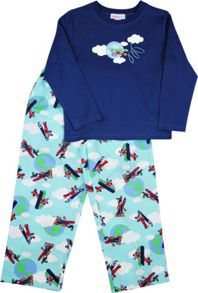 Boys Planes Long T-Shirt/ Long Pant