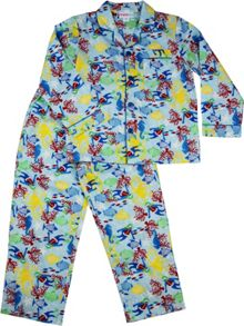 Boys Sea World Long Pj