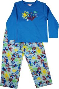 Boys Sea World Long T-Shirt/ Long Pant