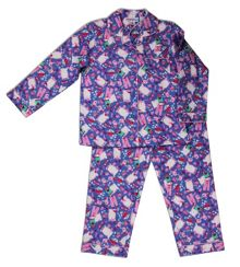 Mini ZZZ Slumber Party Flannel PJ