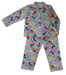 Mini ZZZ Girls Superhero Flannel PJ