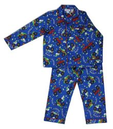 Mini ZZZ Monster Truck Flannel PJ