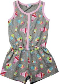 Mini ZZZ Girls Ice-Cream Onesie