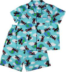 Boys Planes Shortie Pj