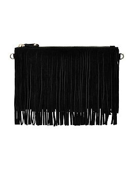 Mighty purse fringe power bank crossbody