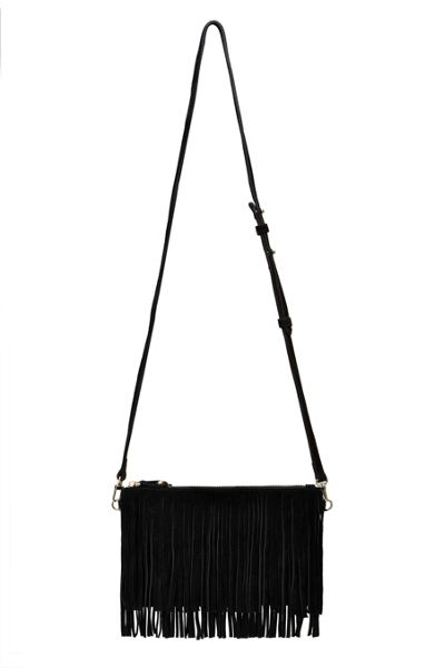 H Butler Mighty purse fringe power bank crossbody