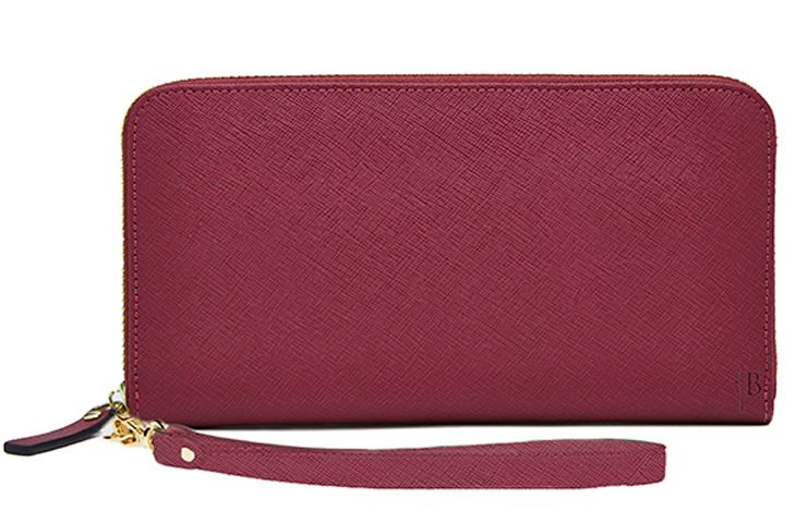H Butler H Butler Mighty purse wallet with power bank, Berry