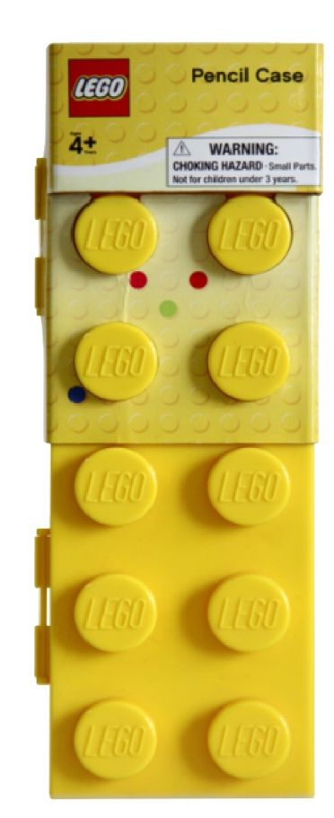 Lego Sationery Yellow Pencil Case