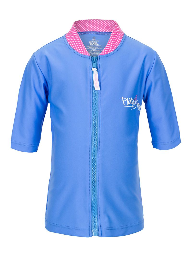 Girl`s short sleeve sun jacket