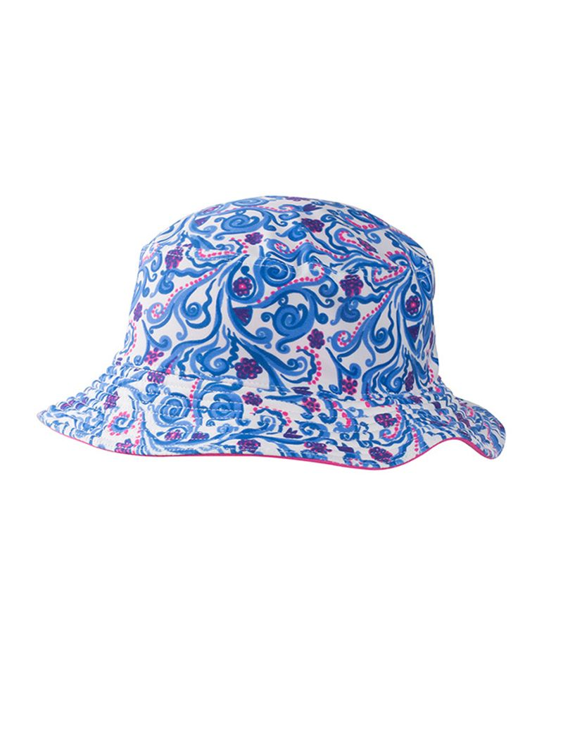 Girl`s reversible bucket hat