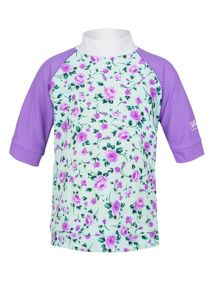 Girls rose sunshirt UPF50+