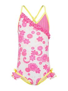 Girls Camelia Blossom Swimsuit UPF50+