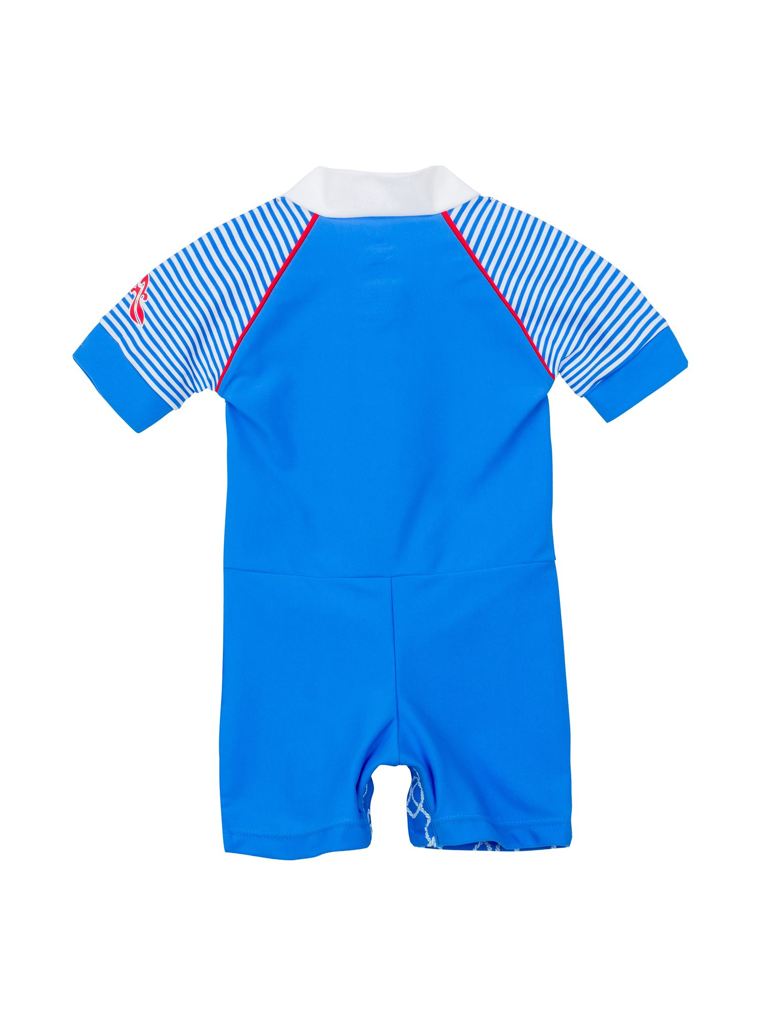 Baby Boy`s twisted rope sunsuit upf50+