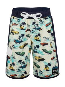 Boys Retro Boardshort UPF50+
