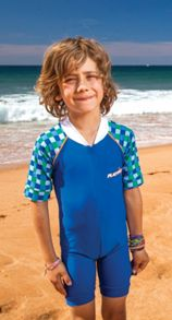 Boy`s grand prix sunsuit upf50+