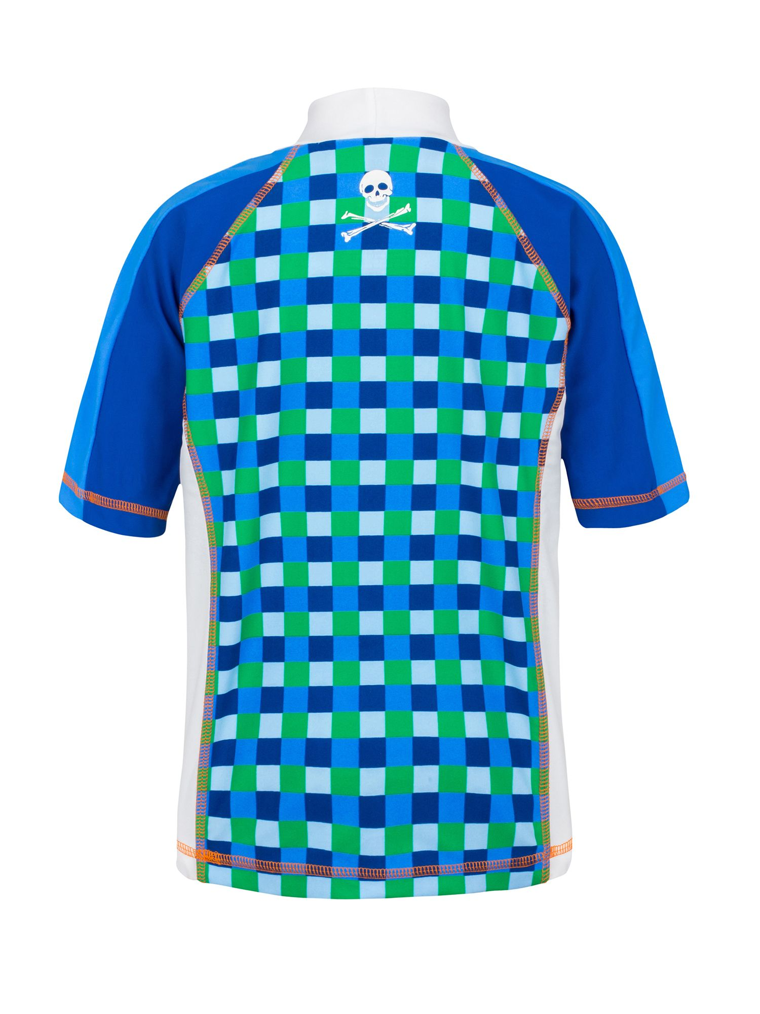 Boy`s grand prix short sleeve sunshirt upf50+