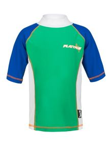 Boys grand prix sunshirt ss UPF50+
