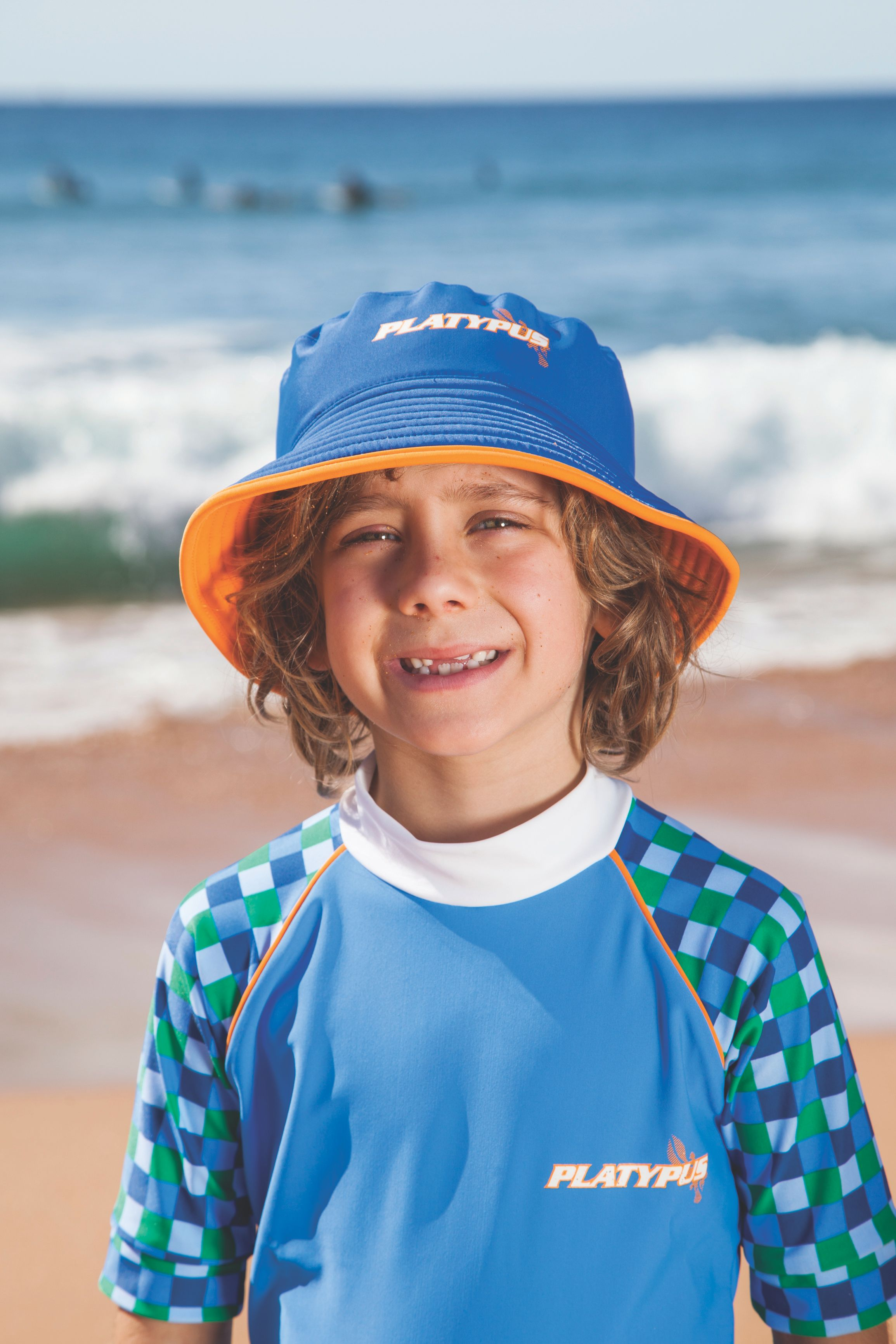 Boy`s grand prix sun hat upf50+